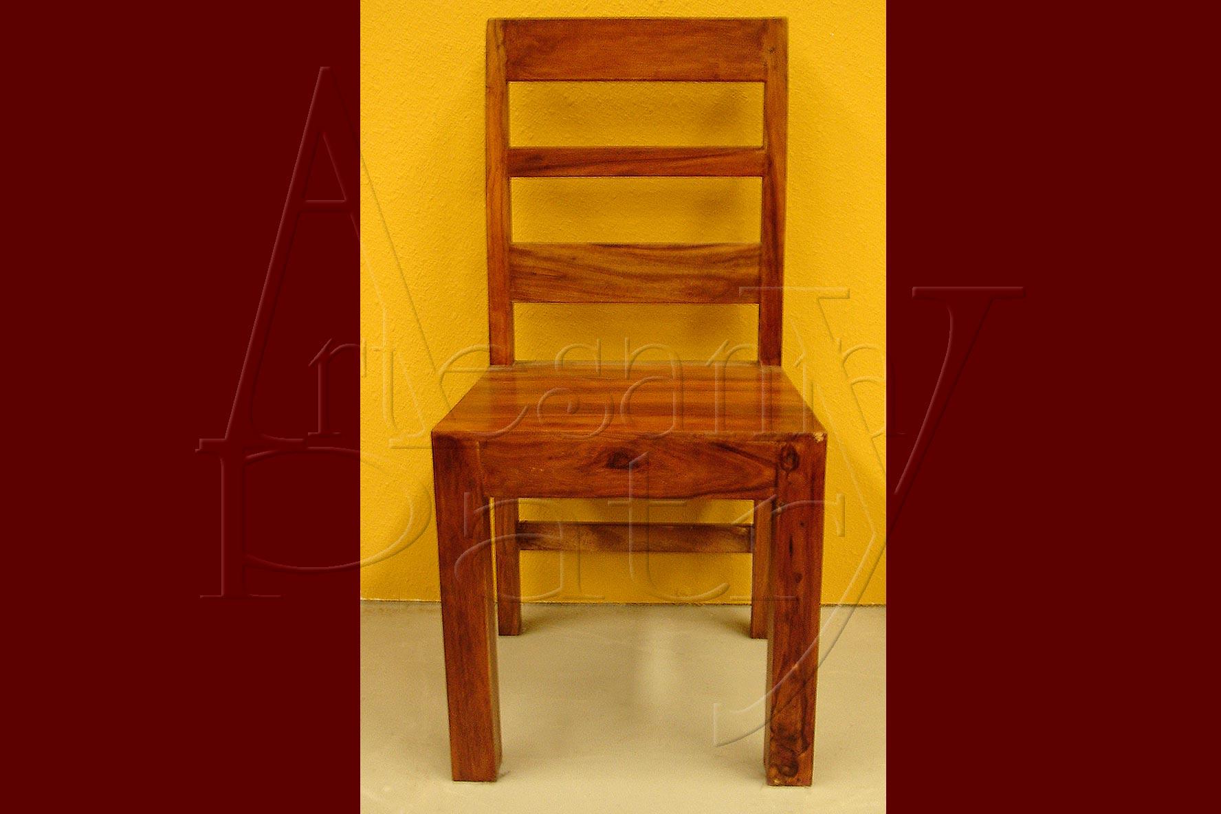 Silla de madera palisandro for Oferta sillas madera